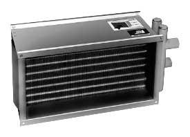 Воздухонагреватели водяные WWN (Korf) для прямоугольных каналов