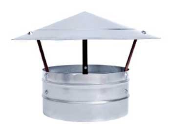Зонты вентиляционные круглые типа ЗК