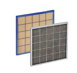 Фильтры ячейковые плоские типа ФЯВ и ФЯР
