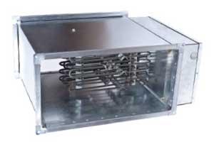 Электрические воздухонагреватели для прямоугольных каналов серии ЭНП